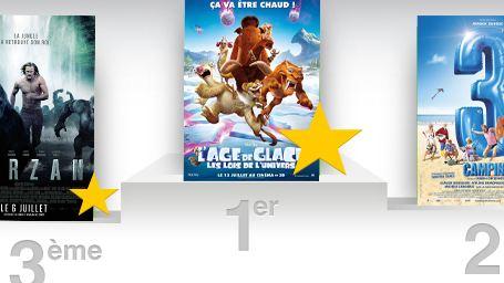 Box-office France : L'Age de glace 5 déloge Camping 3