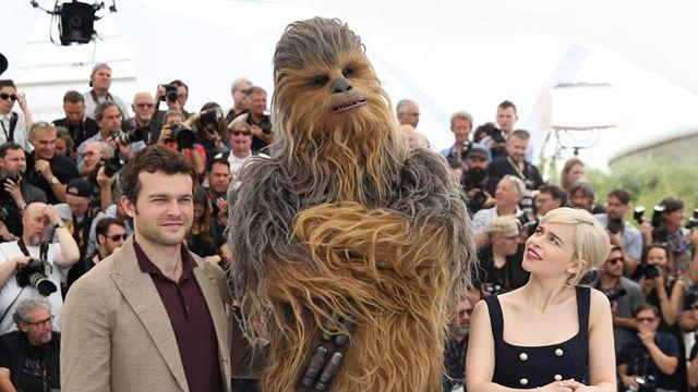 Cannes 2018 : Chewbacca superstar !