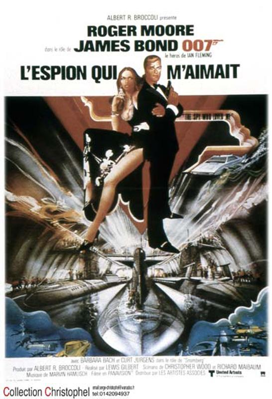 L'espion qui m'aimait - film 1977 - AlloCiné