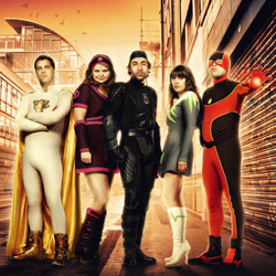 Affiche de la série No Heroics