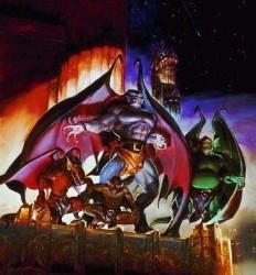 Affiche de la série Gargoyles