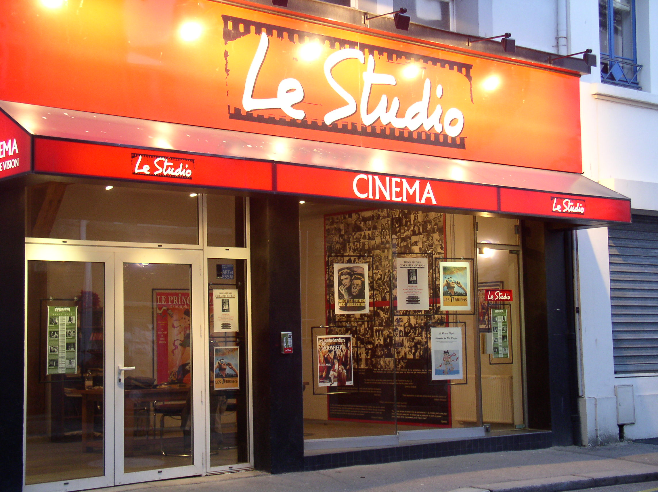 Cinema Le Studio A Le Havre 76600 Allocine