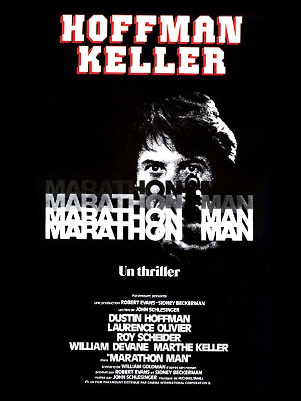 affiche film Marathon Man