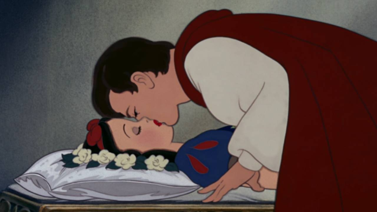 Blanche-Neige : le baiser du Prince fait polémique