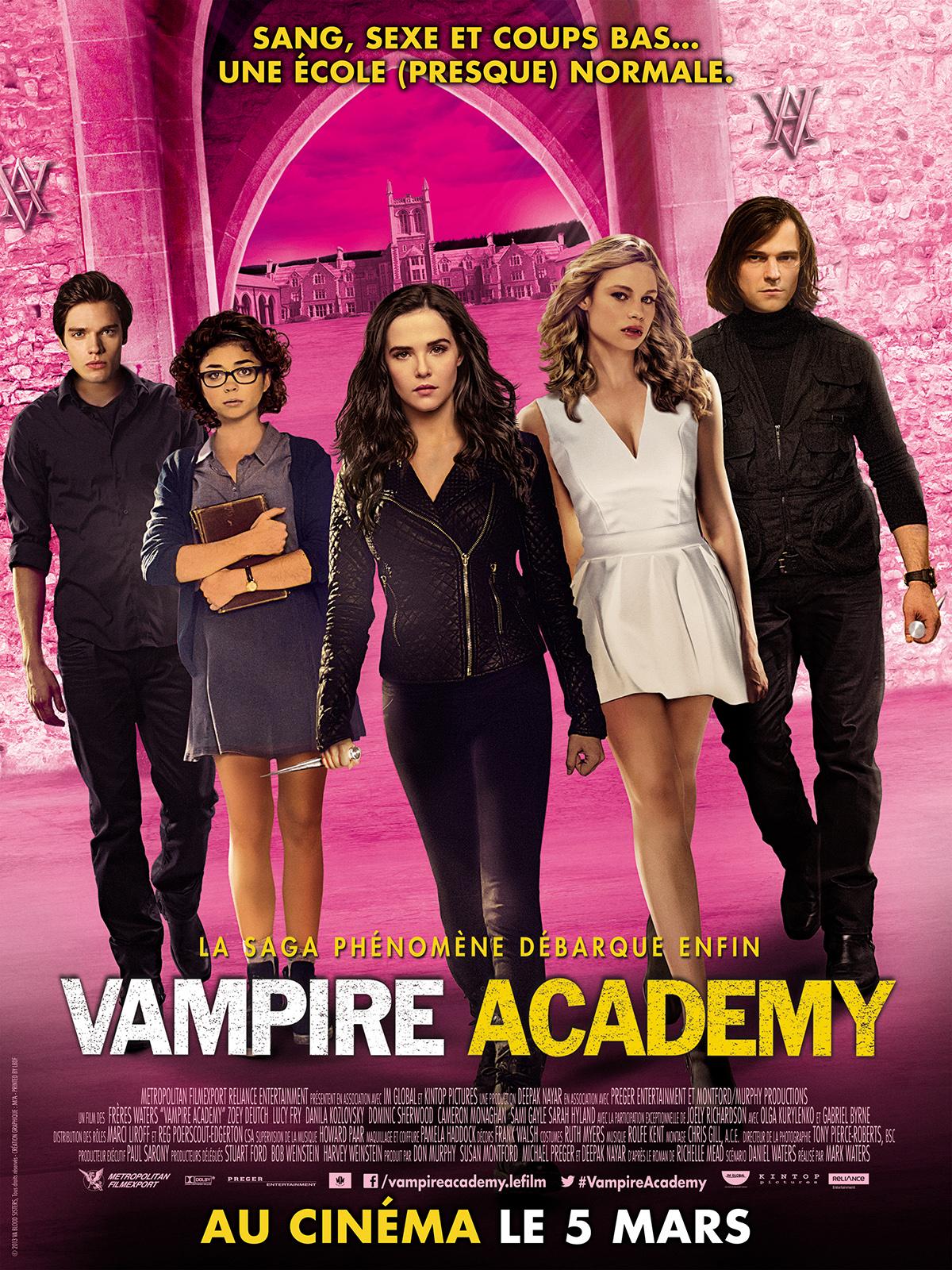 Vampire Academy dvdrip