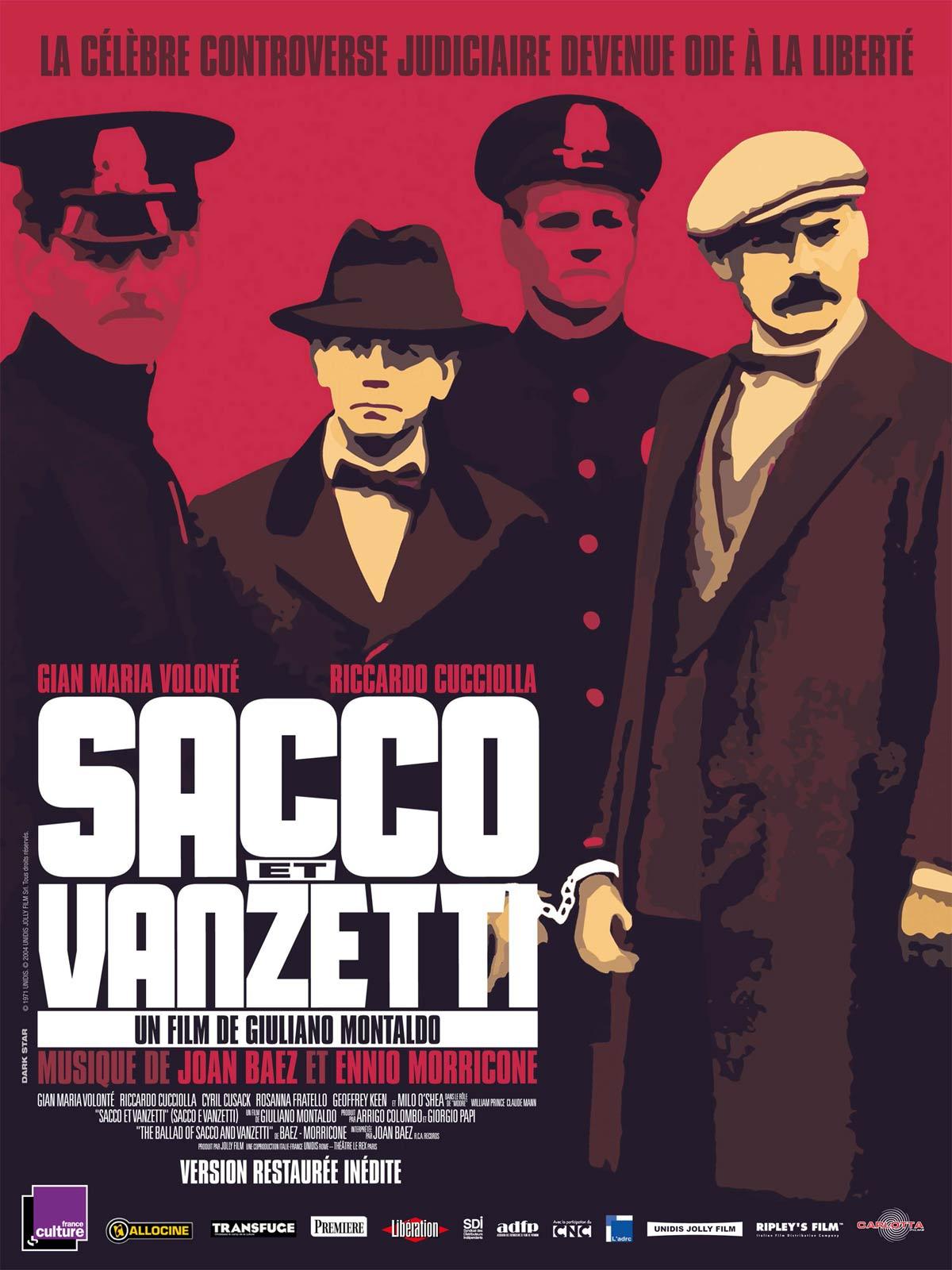 Sacco et Vanzetti en Streaming