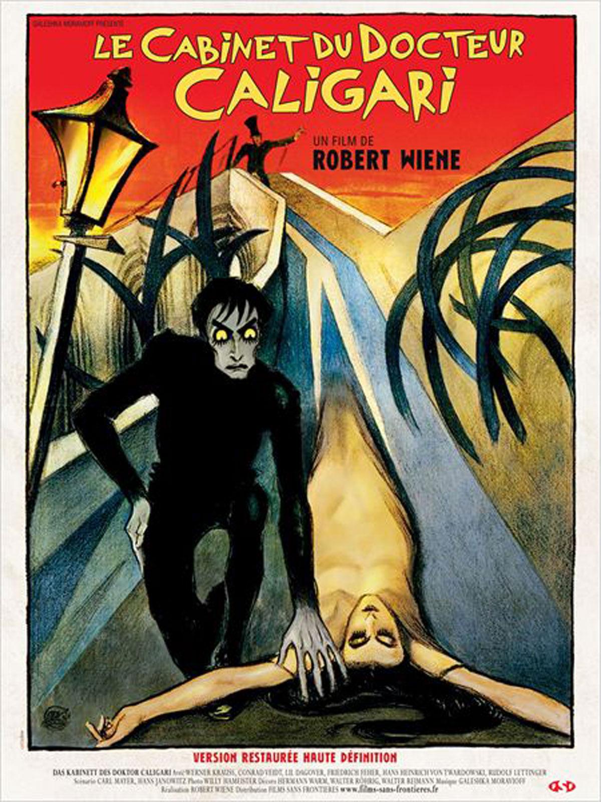 Achat Le Cabinet du docteur Caligari en DVD - AlloCiné