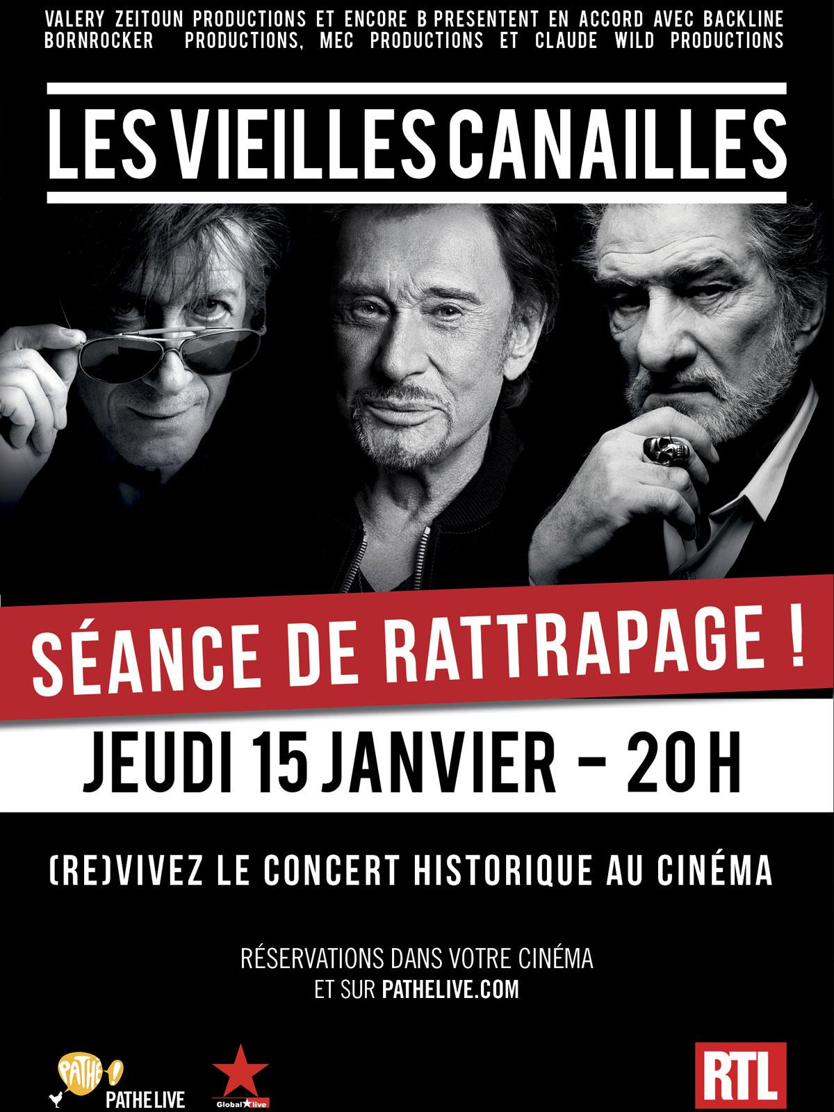 Télécharger Les vieilles canailles -Séance de rattrapage (Pathé live) VF TUREFRENCH Uptobox