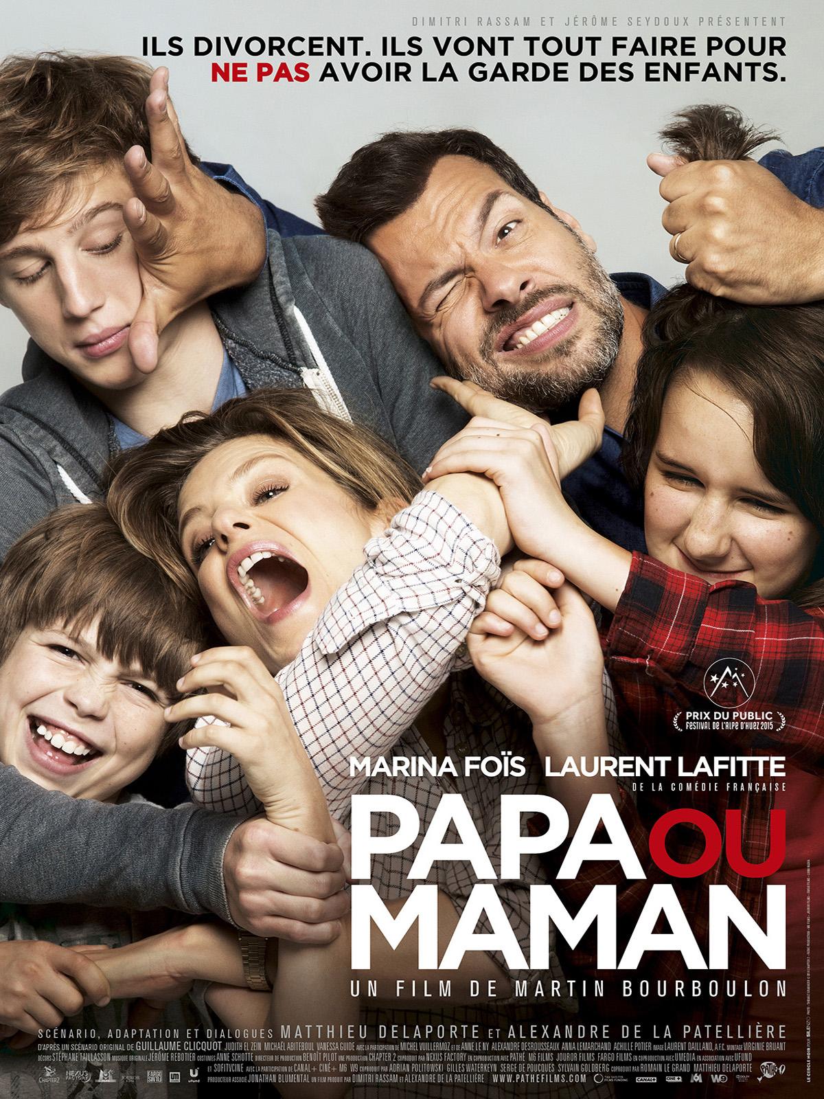 [好雷] 爸媽選邊站 Papa ou maman (2015 法國片)