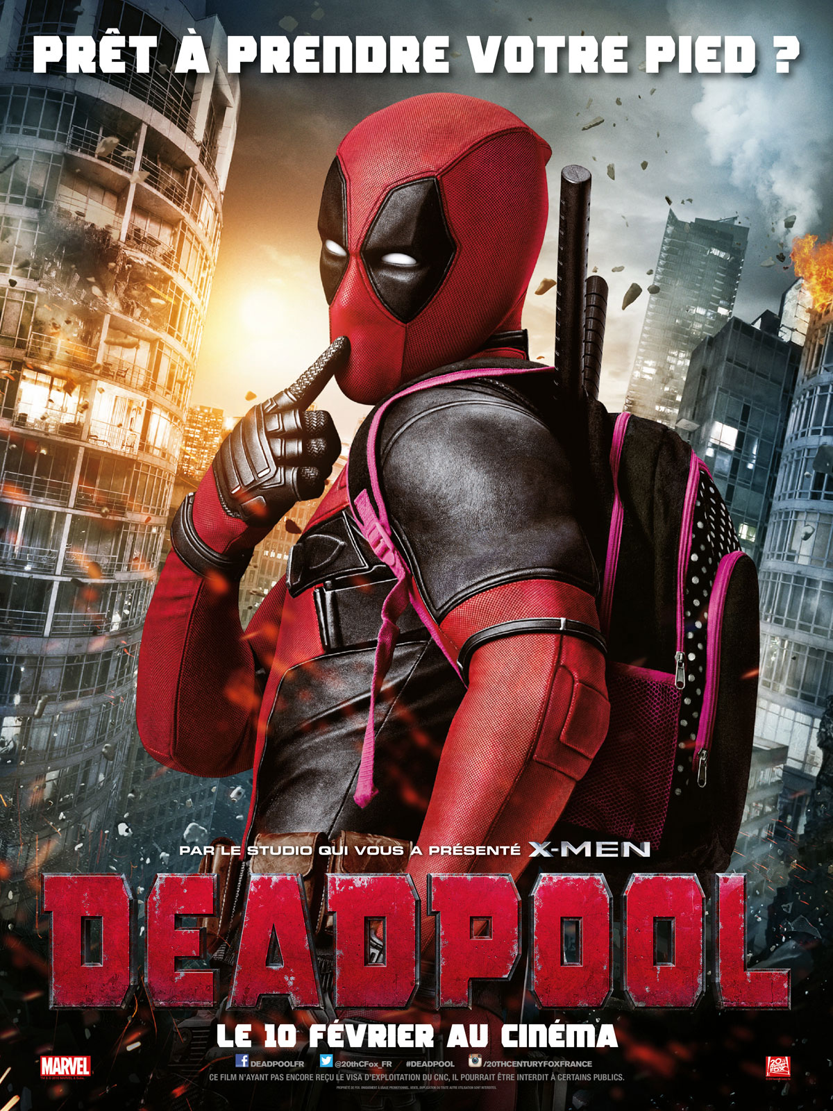 Achat Deadpool en DVD - AlloCiné