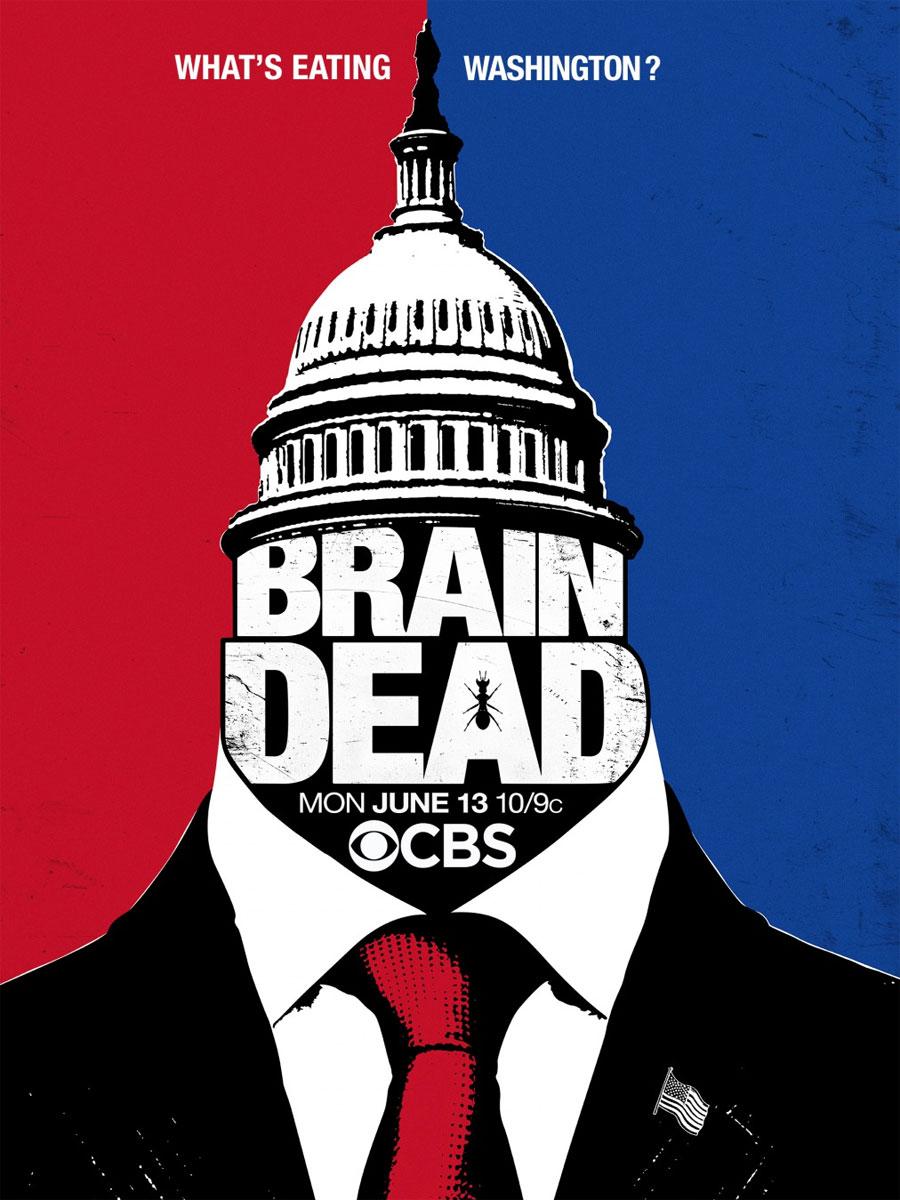 Affiche de la série BrainDead