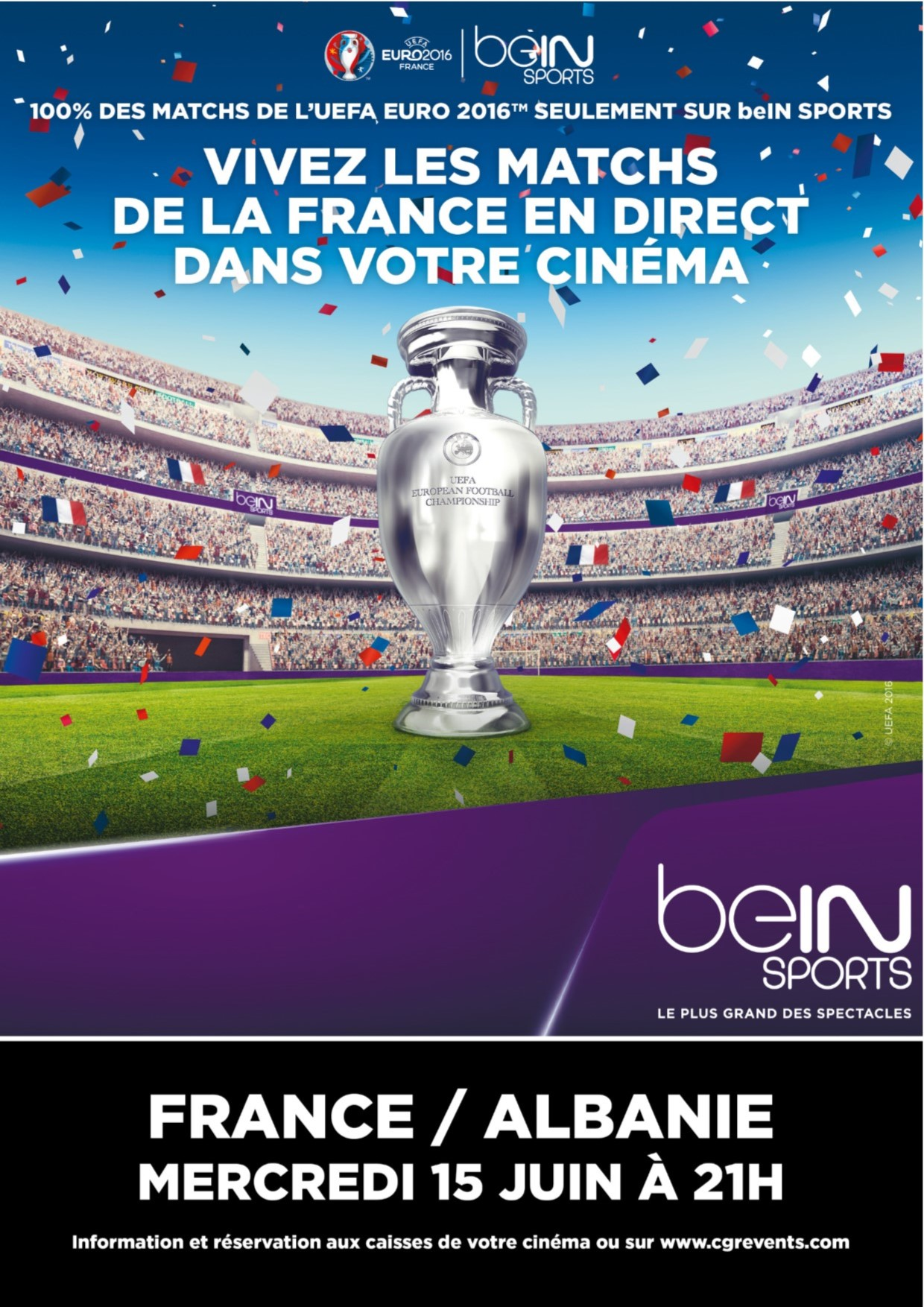 Télécharger Euro 2016 : France / Albanie (CGR Events) DVDRIP TUREFRENCH