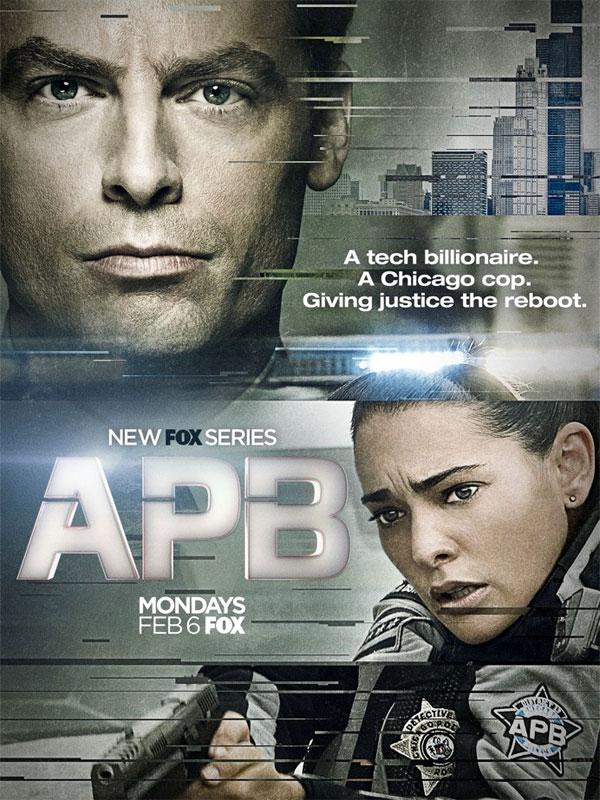 Affiche de la série A.P.B.