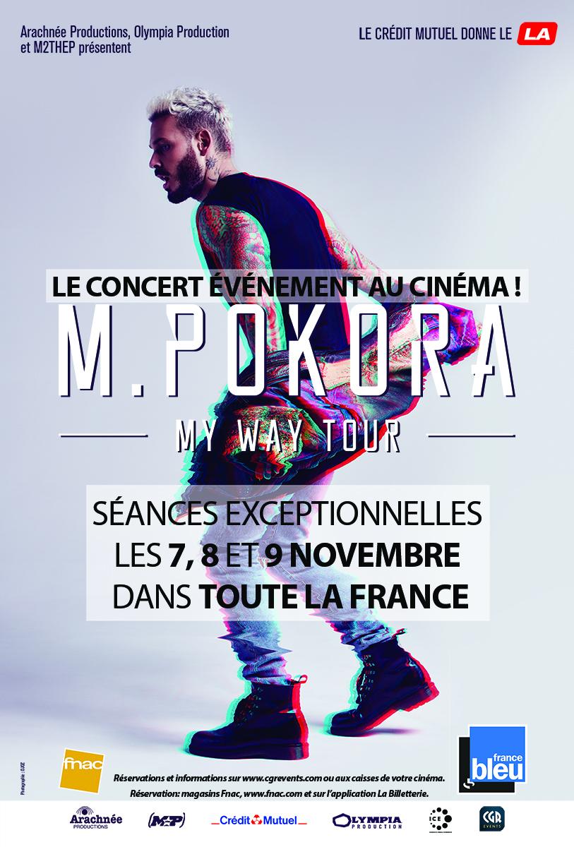 Télécharger M. Pokora - My way tour (CGR Events) Complet DVDRIP Uptobox