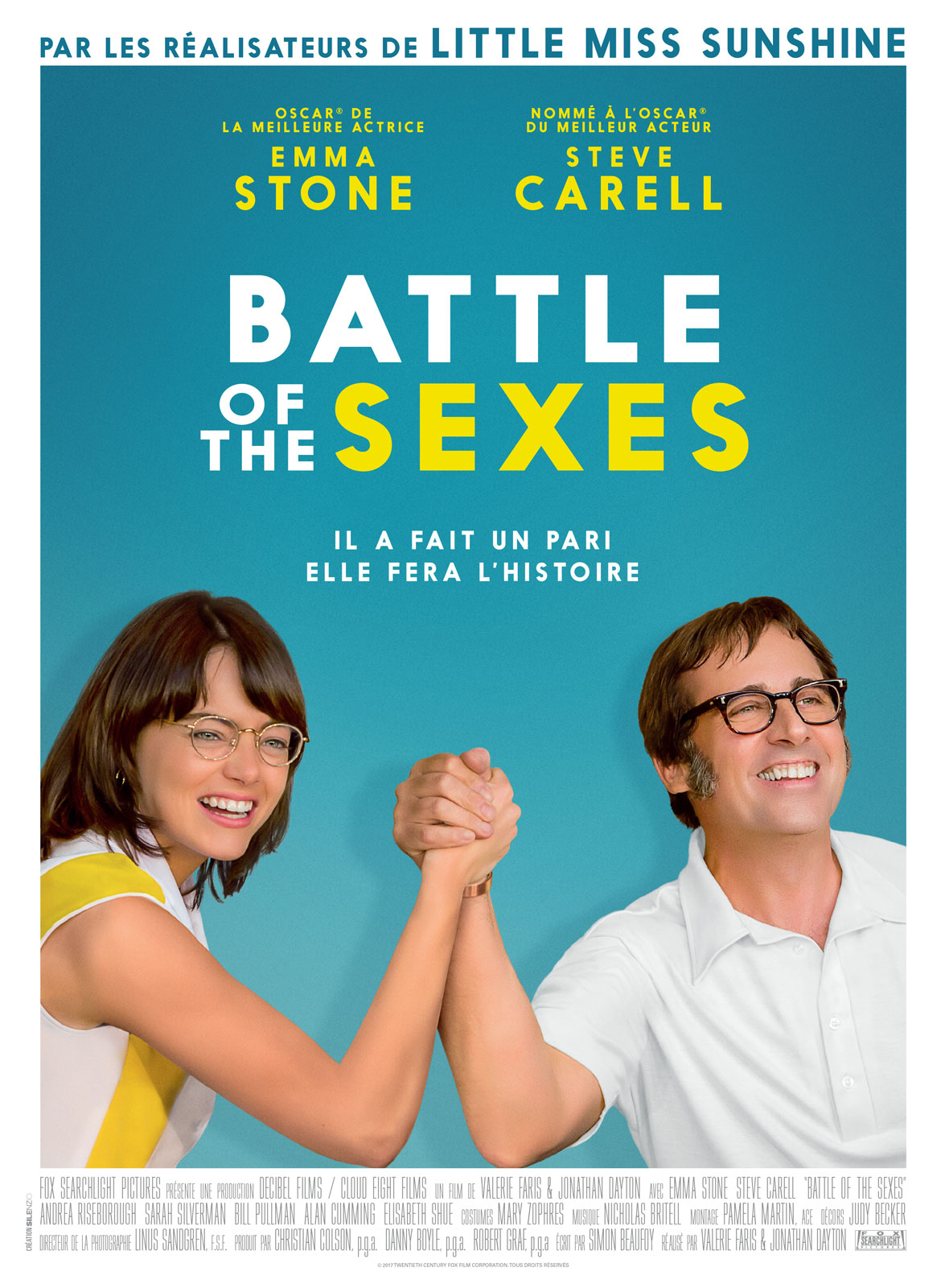 AfficheBattle of the Sexes
