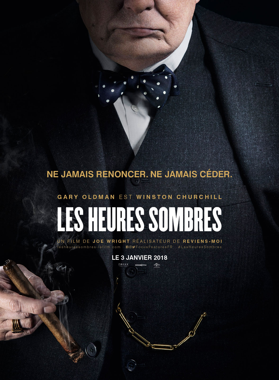 AfficheLes heures sombres