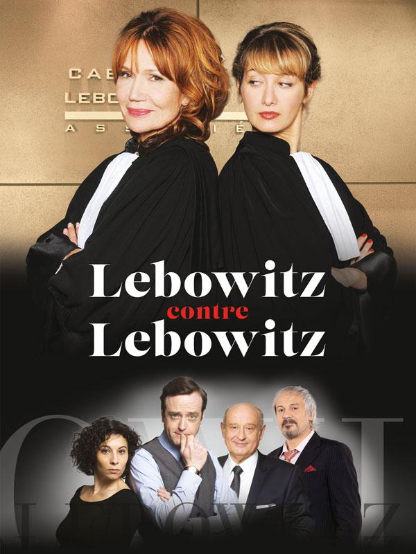 Affiche de la série Lebowitz contre Lebowitz