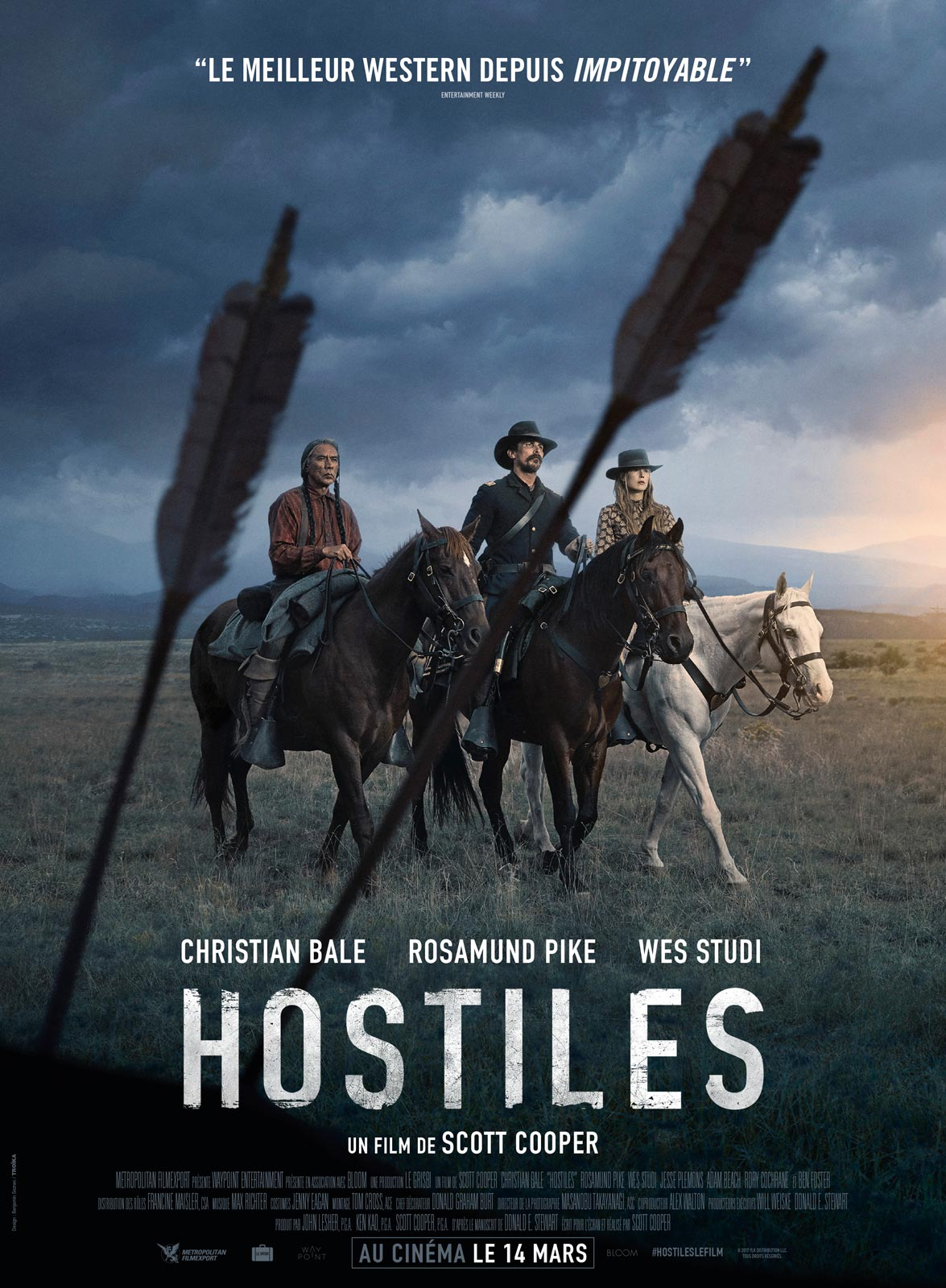 Hostiles streaming