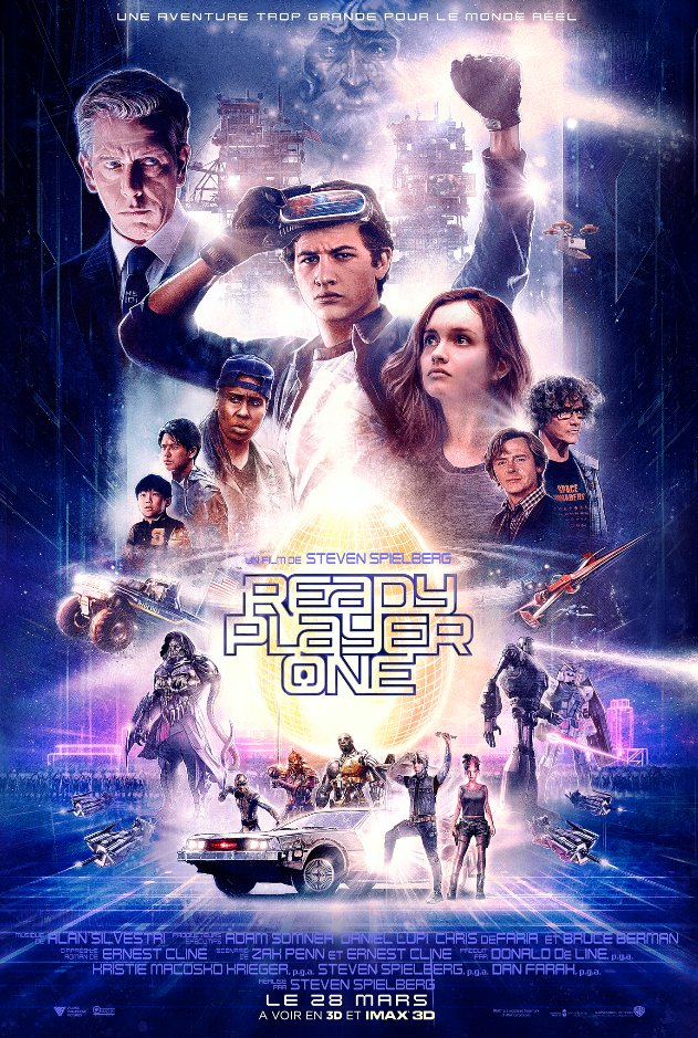 Ready Player One - film 2018 - AlloCiné