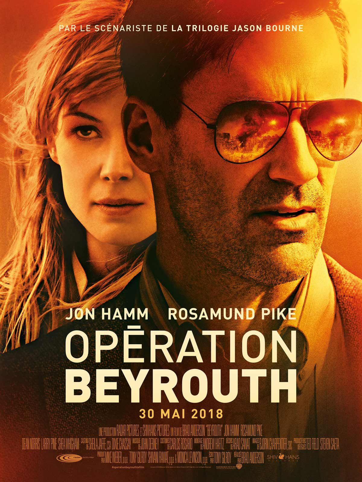 AfficheOpération Beyrouth