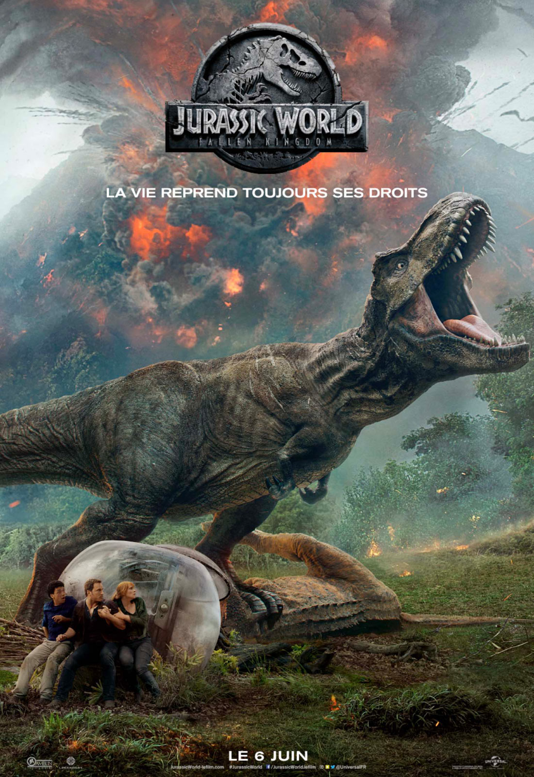 AfficheJurassic World: Fallen Kingdom
