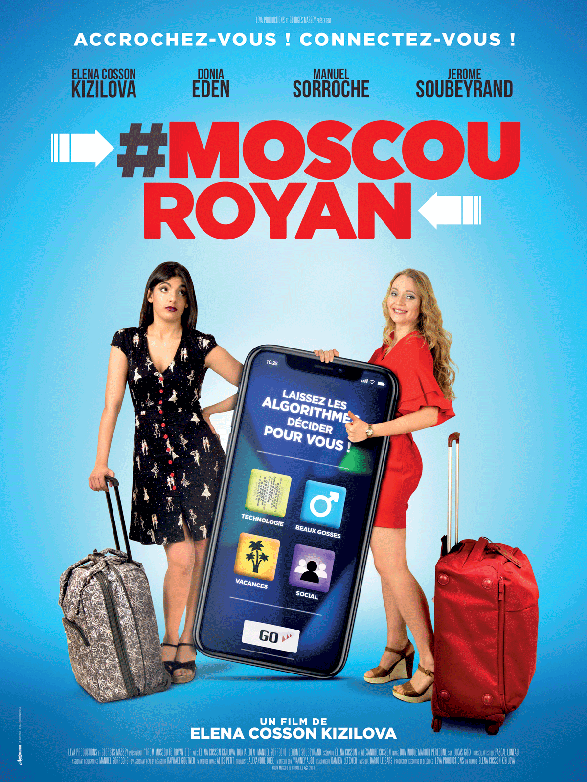 Affiche du film #Moscou-Royan