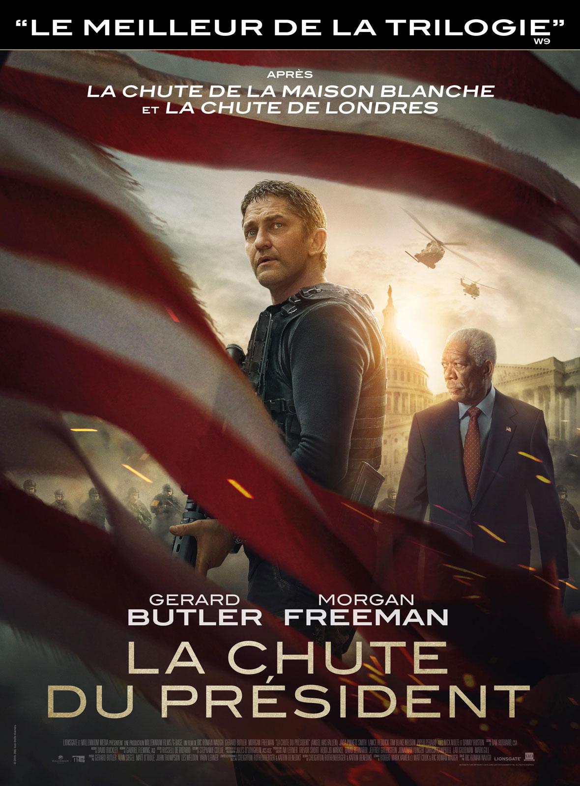 La Chute du Président DVD