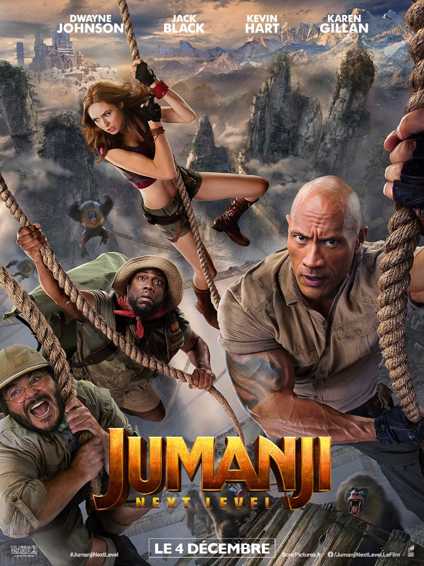 Jumanji: next level streaming