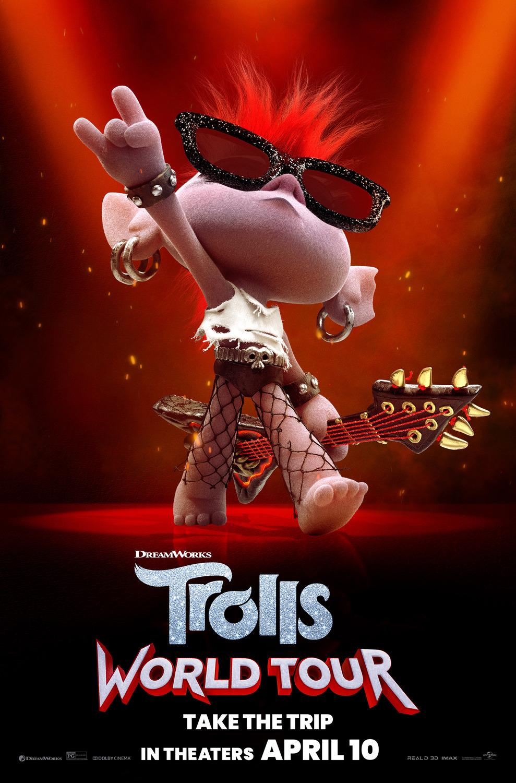 Les Trolls 2 - Tournée mondiale