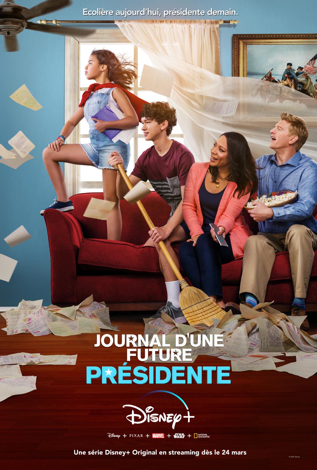Journal d'une Future Présidente [Disney - 2020] 0937471