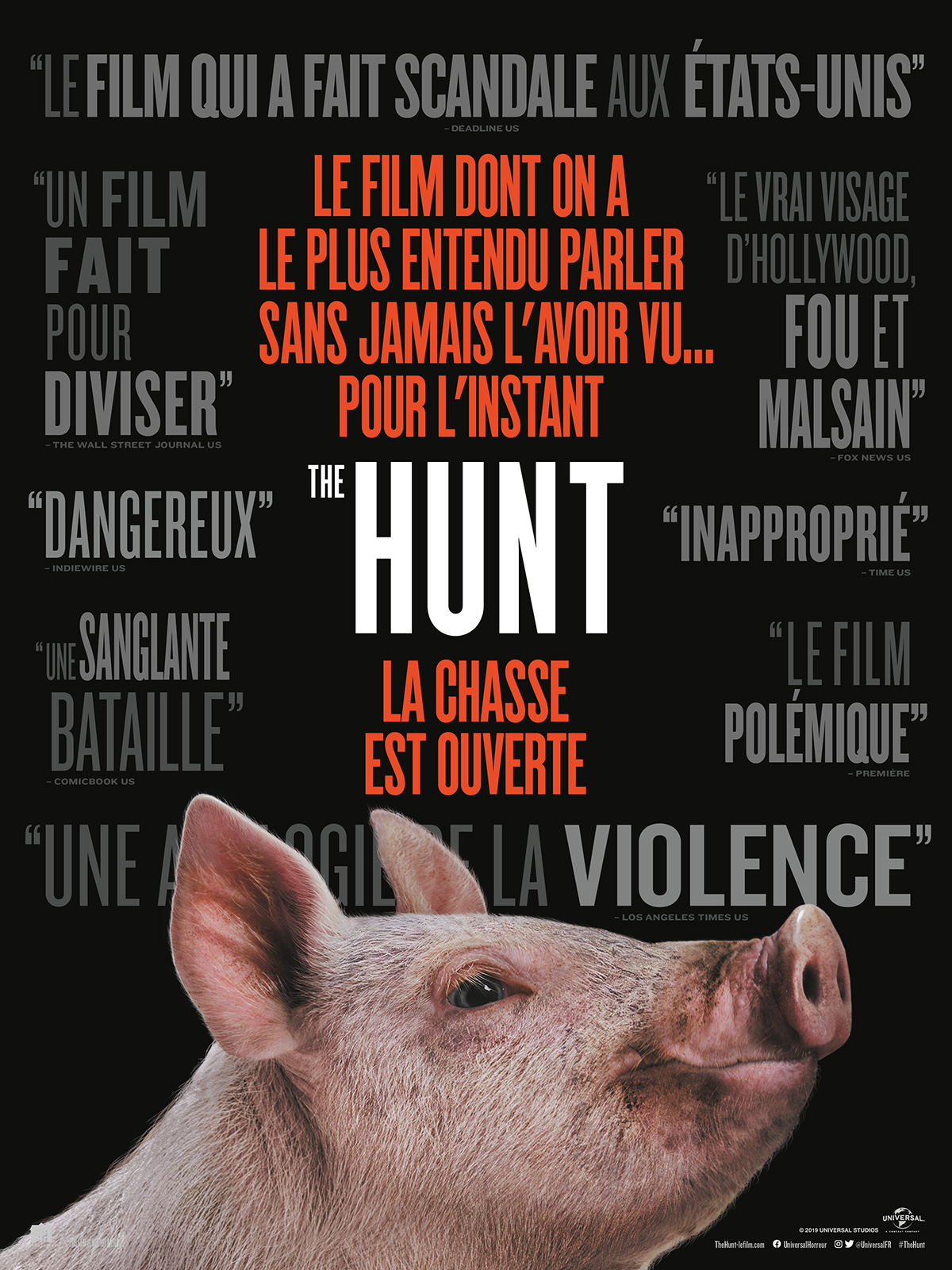 Affiche du film The Hunt