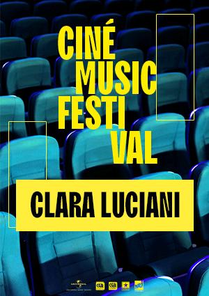 Ciné Music Festival :Clara Lucianià l'Olympia – 2019