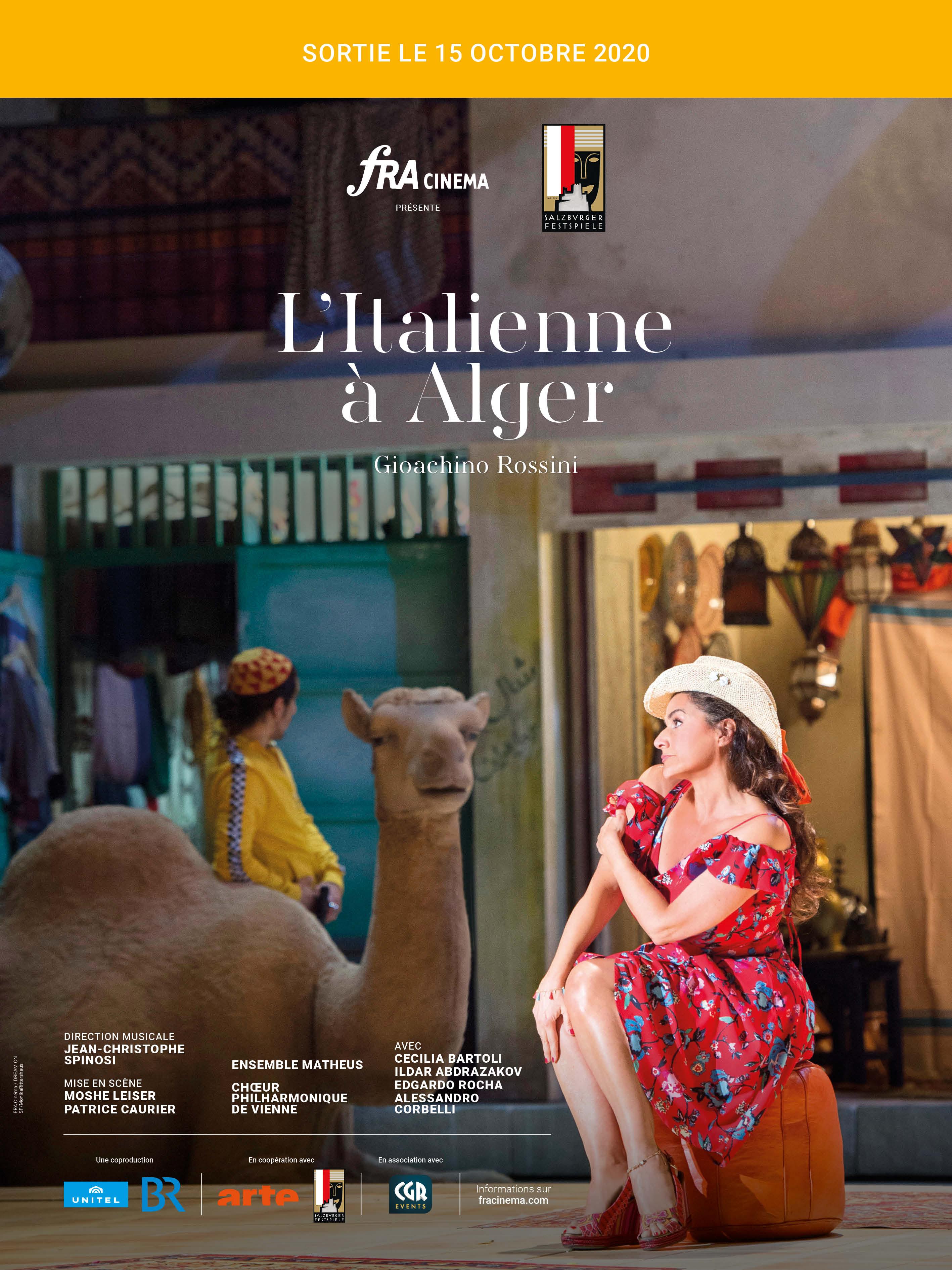 Affiche du film L'Italienne à Alger (Festival de Salzbourg-FRA Cinéma)