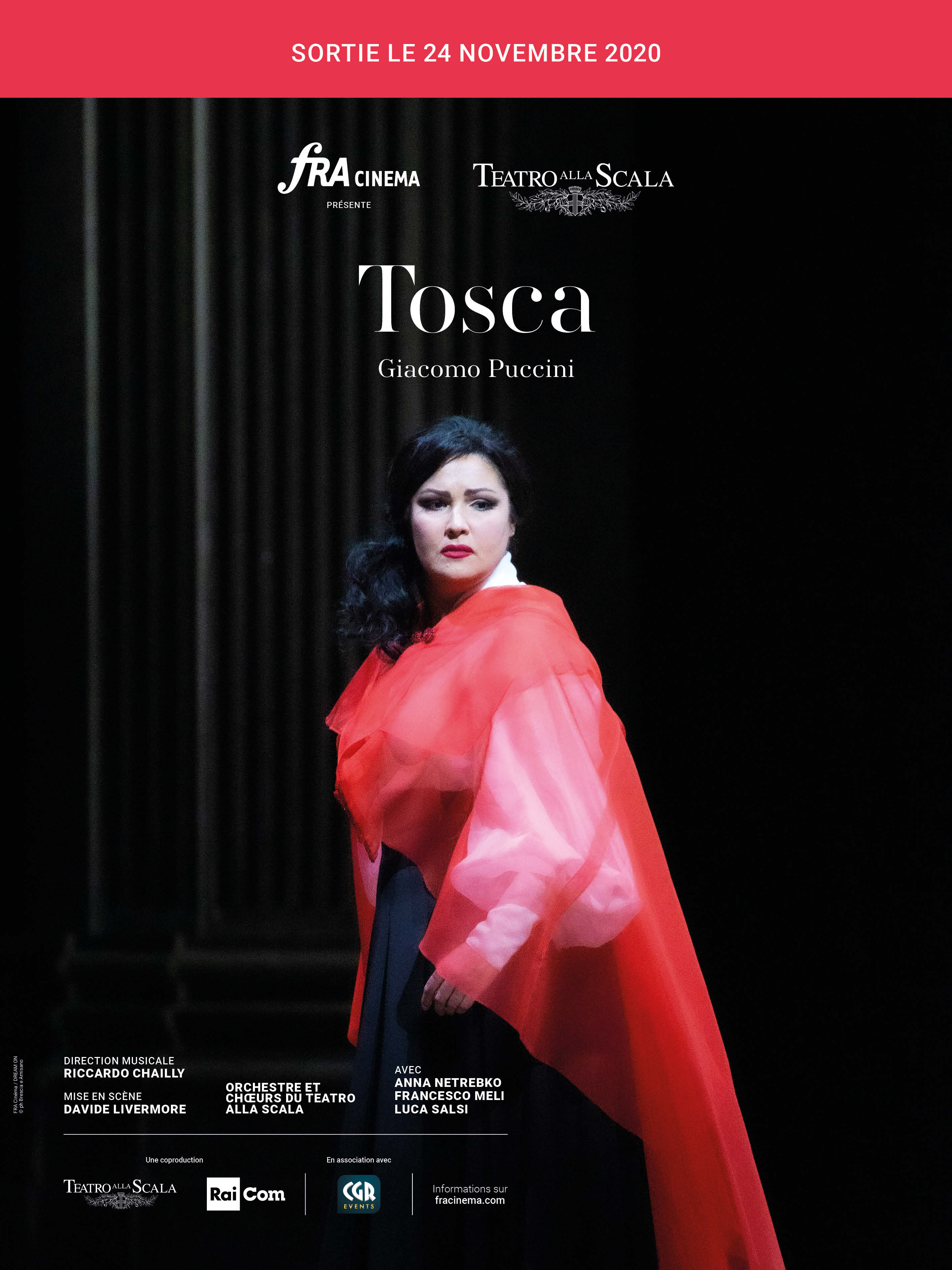 Tosca (Teatro all Scala-FRA Cinéma)