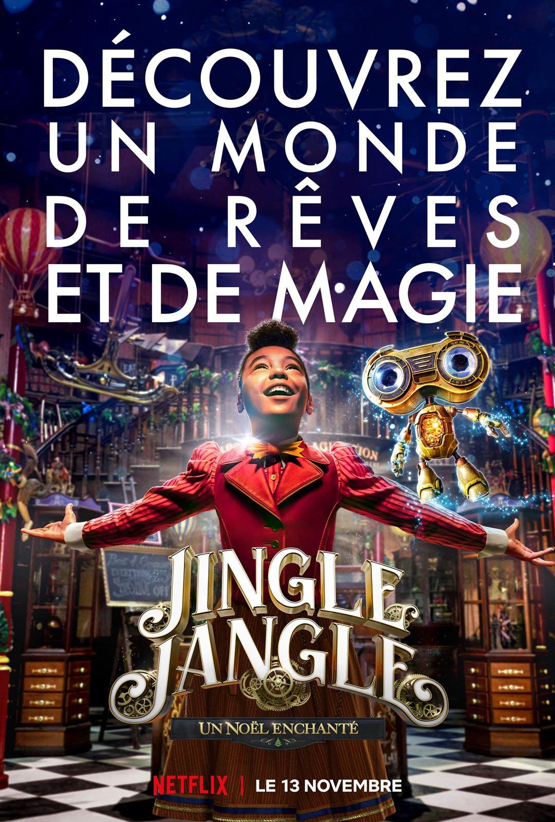 Jingle Jangle : Un Noël enchanté streaming