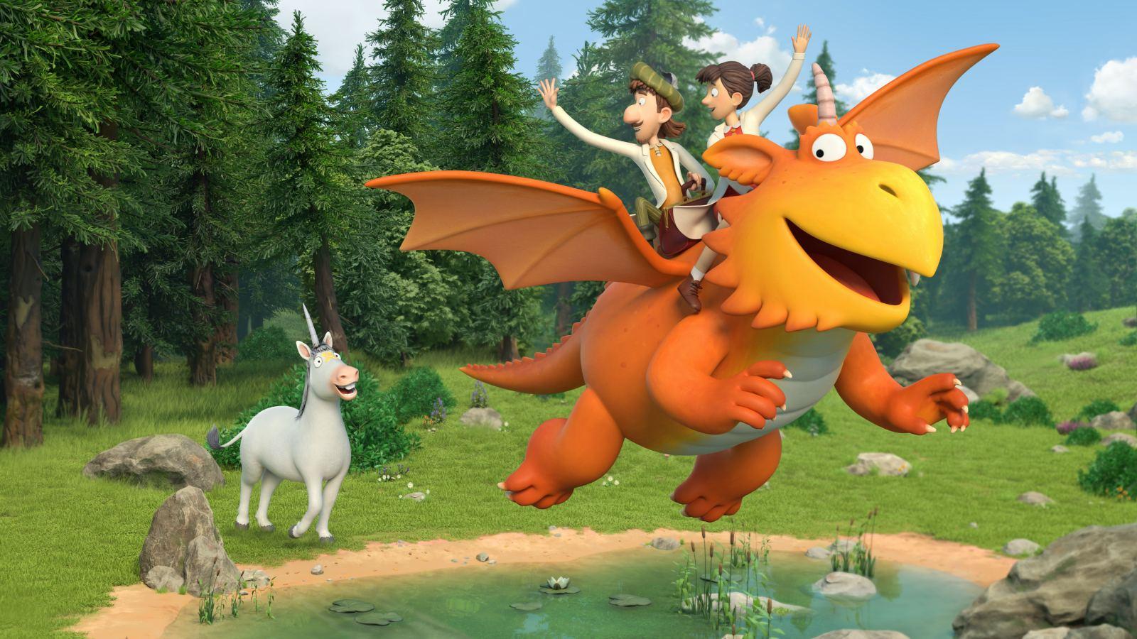 Photo du film Zébulon le dragon et les médecins volants - Photo 13 sur 15 -  AlloCiné