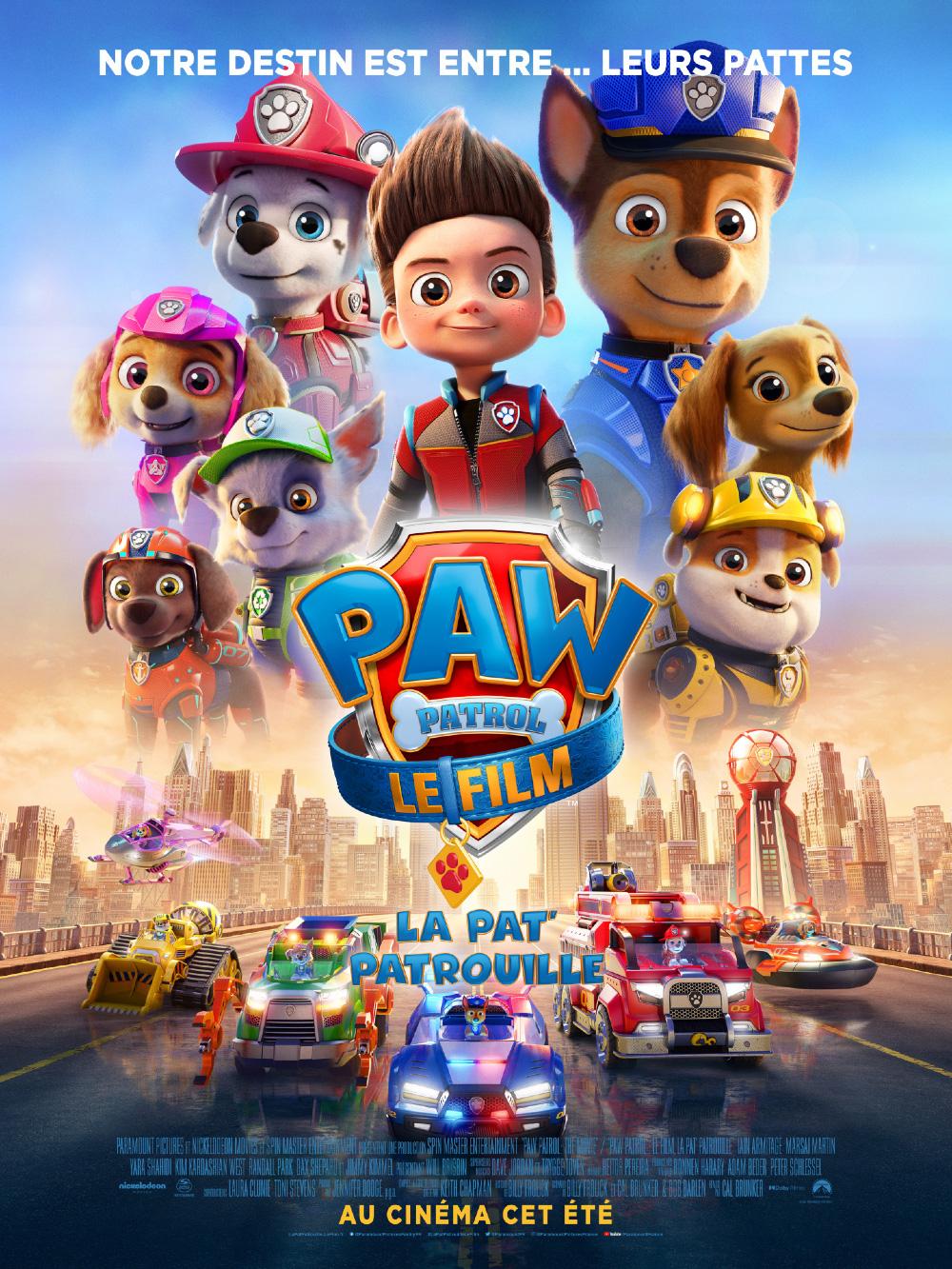 PAW PATROL - LE FILM - LA PAT PATROUILLE