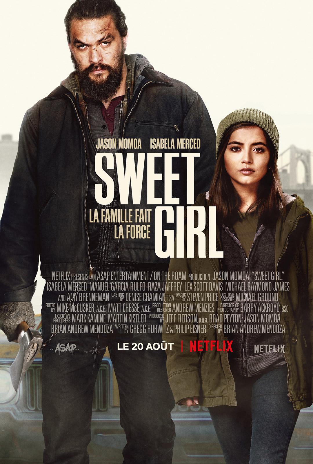 [好雷] 護女煞星 Sweet Girl (Netflix)