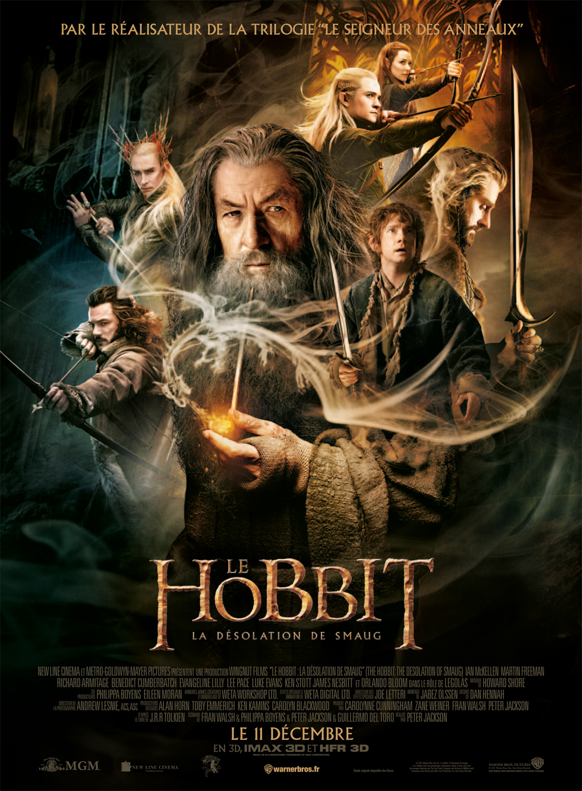 Le Hobbit : la Désolation de Smaug [TRUEFRENCH] dvdrip