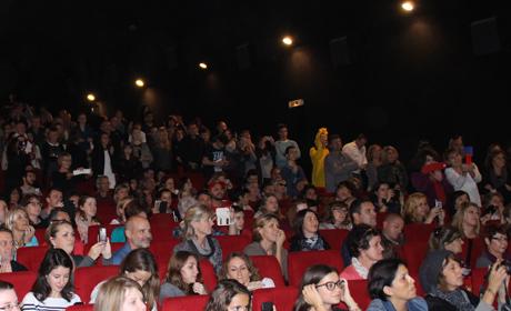 Soirée d'ouverture des Rencontres Cinématographiques de Salon de Provence.