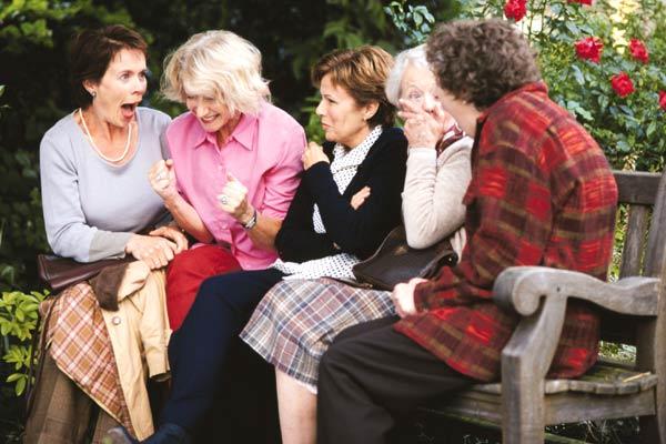 Celia Imrie, Helen Mirren, Julie Walters et Annie Clark