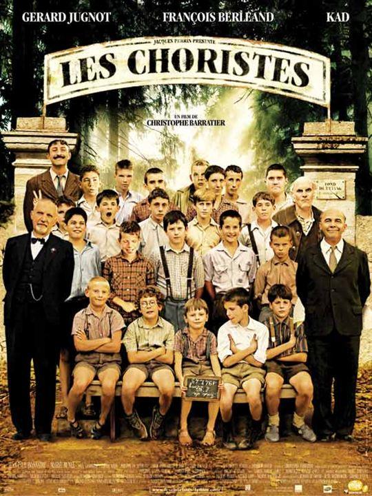 Les Choristes : Affiche Gérard Jugnot