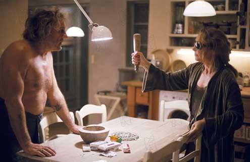 Gérard Depardieu et Catherine Frot