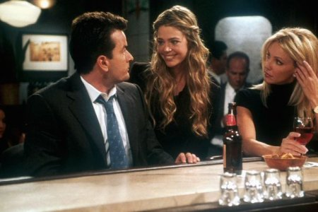 Spin City : Photo Charlie Sheen, Denise Richards, Heather Locklear