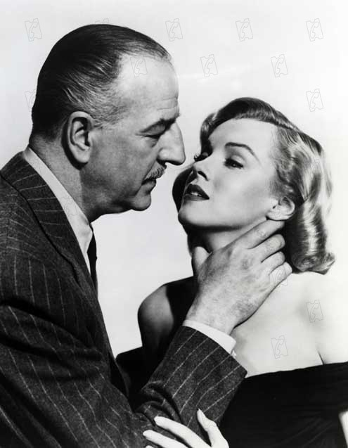 Quand la ville dort : Photo John Huston, Louis Calhern, Marilyn Monroe