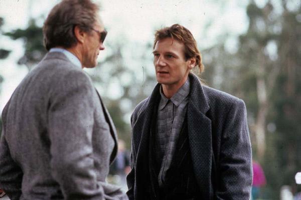 L'Inspecteur Harry est la dernière cible : Photo Buddy Van Horn, Clint Eastwood, Liam Neeson