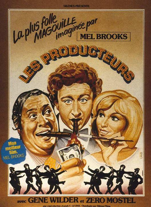 Les Producteurs : Affiche Gene Wilder, Mel Brooks, Zero Mostel