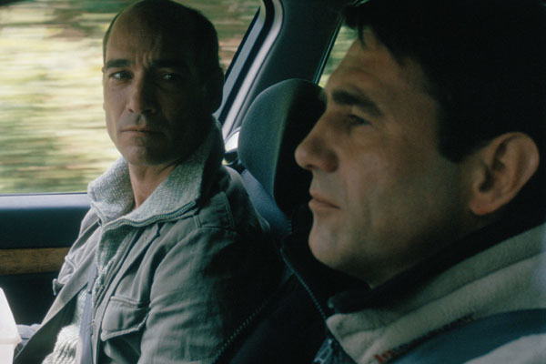 Jean-Marc Barr et Sergi Lopez