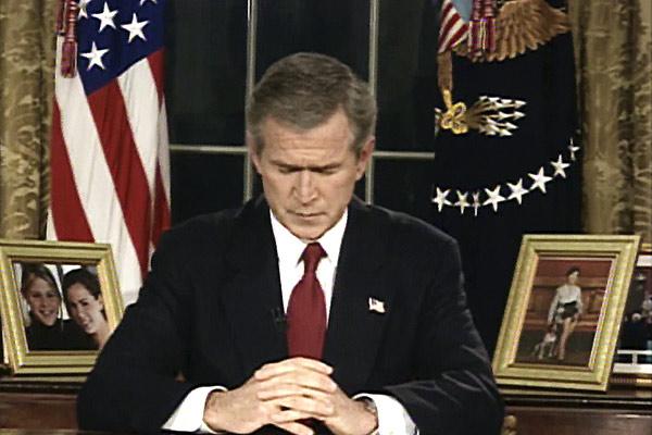 Being W. : Photo George W. Bush, Karl Zéro, Michel Royer