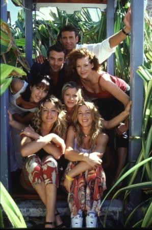 Les Vacances de l'amour : Photo Hélène Rolles, Isabelle Bouysse, Laly Meignan, Laure Guibert, Patrick Puydebat